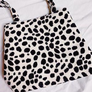 Dalmatian Print Vintage Shoulder Bag Purse